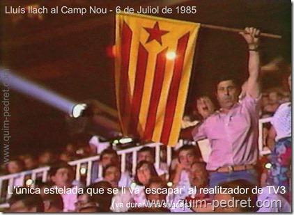 TV3 Camp del Barça 6 Juliol 1985 Quim Pedret