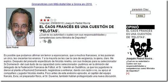 Caos en francia