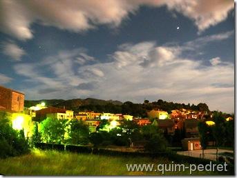 Una nit de lluna plena a Vilajuïga