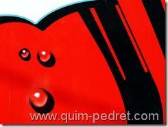 Cola Kudry Arte abstrato Quim Pedret
