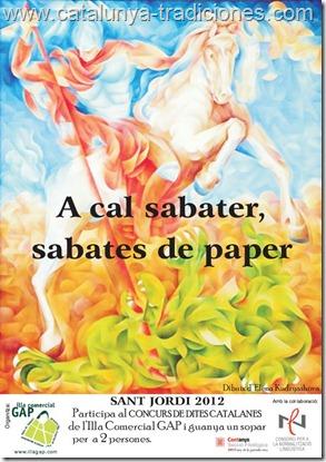Sant Jordi a Cal Sabater