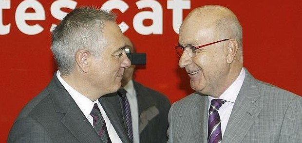 Pere Navarro i Josep Antoni Duran i Lleida