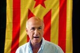 Durán i Lleida y la senyera