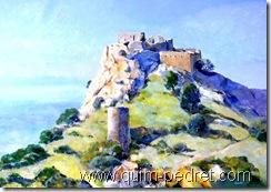Ricard Anson Castell de Quermançó